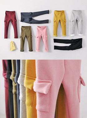 """时间口袋裤<br> <font color=""""#9f9f9f"""">♡温暖的感情♡ <br>巨石貂皮毛衬里!</font>"""
