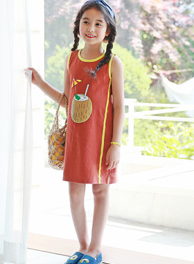 "Carribe连衣裙<br> <font color=""#9f9f9f"">♡漂亮之前,后印♡ <br>活跃的底部裙子UP!</font>"