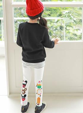 """甜甜圈米奇打底裤<br> <font color=""""#9f9f9f"""">*真正的舒适打底裤* <br> *喜欢时尚的裤子*</font>"""