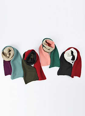 <font color=#edb200>* 2017年JKIDS *</font> <br>混合颜色的围巾
