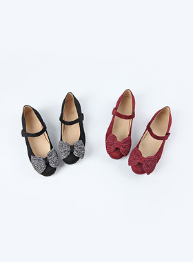 <font color=#edb200>* 2017年JKIDS *</font> <br>马利·沙阿编织平底鞋