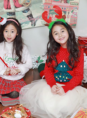 """圣三一快乐<br> <font color=""""#9f9f9f"""">♡♡dotomhan双针织织<br> Mulssin的圣诞气氛!</font>"""