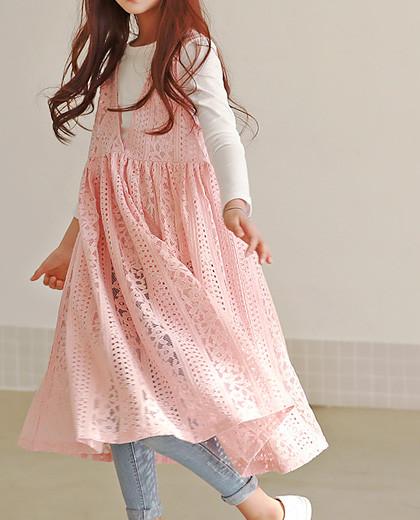 """艾米丽蕾丝连衣裙SET <br> <font color=""""#9f9f9f"""">♡♡设置连衣裙+ T恤衫<br>仔细一旦更多的爱!</font>"""
