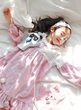 """风流美国睡衣裙<br> <font color=""""#9f9f9f"""">*睡衣穿得像一个明媚春天* <br> *精心在家*</font>"""