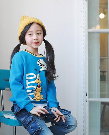 """冥王星叶运动衫<br> <font color=""""#9f9f9f"""">♡可爱♡字符冥王星<br>清爽的青春运动衫!</font>"""