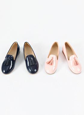 莫莉流苏便鞋