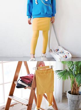 """现值jjonjjon兰斯<br> <font color=""""#9f9f9f"""">♡裙子+打底裤=世界快速项♡ <br>活跃看起来很容易!</font>"""