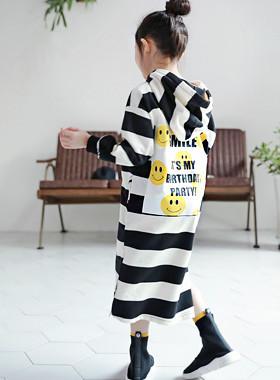 """派对帽连衣裙<br> <font color=""""#9f9f9f"""">♡Back Point微笑打印♡ <br>我想穿长裙!</font>"""