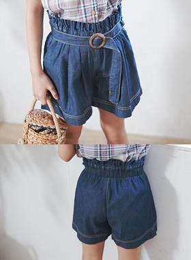 "Haikyu乐天的裤子<br> <font color=""#9f9f9f"">♡像裙子一样的裤子<br>前线腰带关键点!</font>"