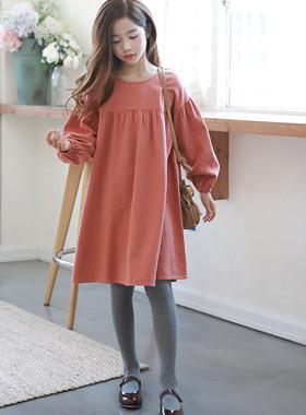 "Isabel Puff连衣裙<br> <font color=""#9f9f9f"">*珊瑚粉红色* <br> Fit Pire衣衣裙</font>"