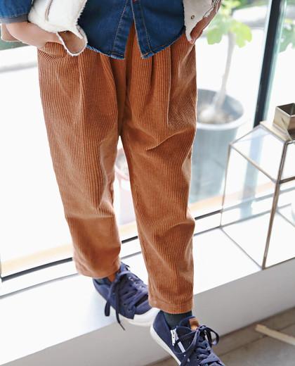 波音灯芯绒裤