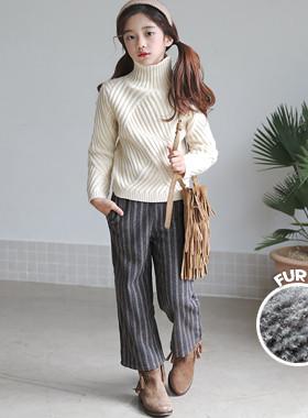 "Asura ST羊毛皮裤<br> <font color=""#9f9f9f"">*时尚的第一项!* <br>毛皮衬里</font>"