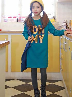 Omai开衩连衣裙