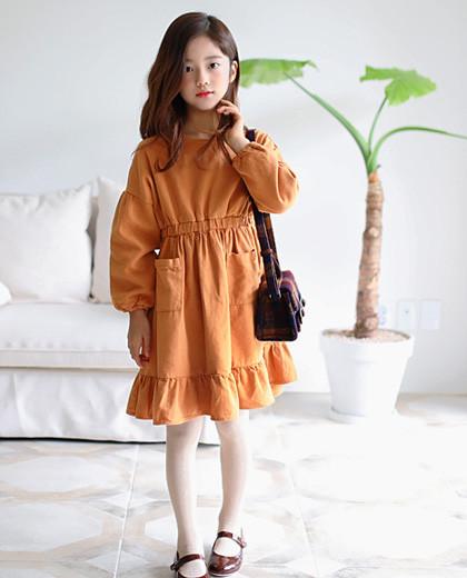 """赫拉口袋连衣裙<br> <font color=""""#9f9f9f"""">* Girl Sensation连衣裙* <br>坚固的材料和衬里</font>"""
