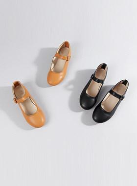涂层平底鞋