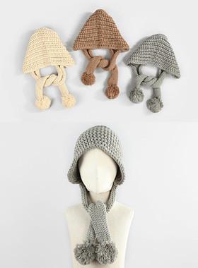 Junni针织围巾