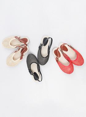 郁金香醪凉鞋