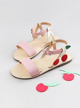 Bonbon樱桃凉鞋