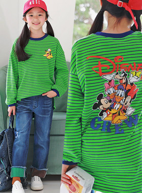 Disney Crew ST长款T恤